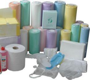 одноразовые простыни и полотенца